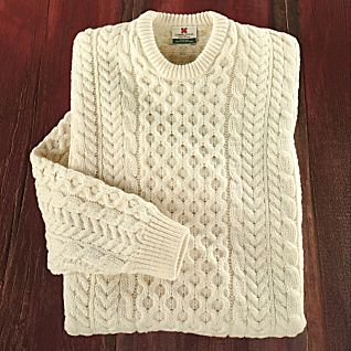 Irish Cable Wool Sweater 107